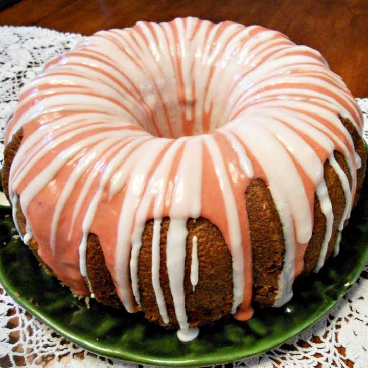 Strawberry Moscato Cake