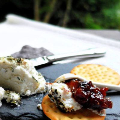 Savory Fig Jam | Fig Jam Doesn't Always Have to Be Sweet!
