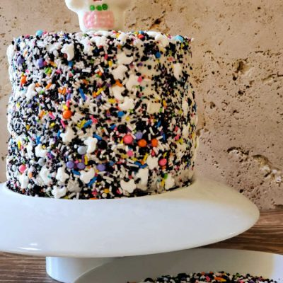 Easy Day of the Dead Cake | Dia de Los Muertos Cake