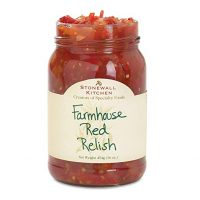 Stonewall Kitchen Farmhouse Red Relish (hot and sweet)