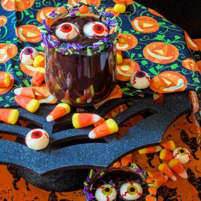 Easy Chocolate Pudding Recipe | #HalloweenTreatsWeek