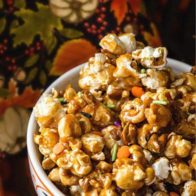 Pumpkin Spice Caramel Corn Recipe
