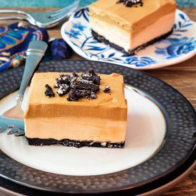 Whipped Coffee Cheesecake Bars