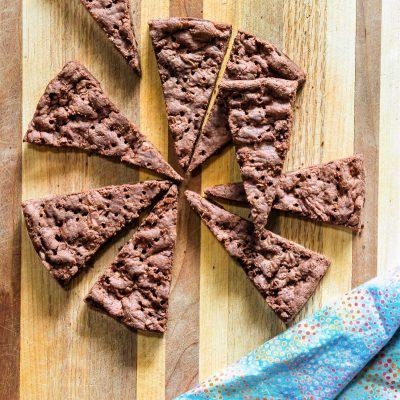 Chocolate Chocolate Chip Shortbread