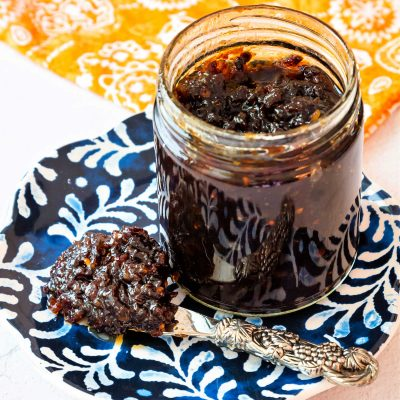 Spicy Bacon Jam with Chipotle Peppers